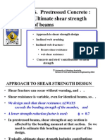 Prestressed Concrete - 6 Ultimate Shear Strength of Beams