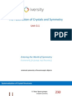 CHAPTER 3 the World of Symmetry, Crystal Classes and Plane Groups