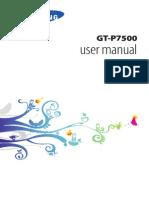 GT-P7500 manual