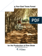 Production of Pine Straw Bales