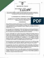 Decreto 1053 Del 05 de Junio de 2014