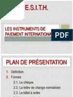 5 Instruments de Paiement a l'International