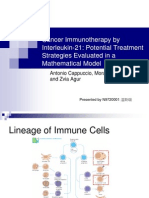 Cancer Immunotherapy powerpoint