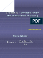 Dividend Policy and Internal Financing2