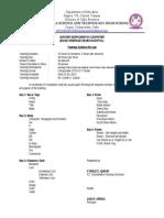 Basic Webpage Designing (TRAINING SYLLABUS)
