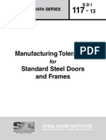 Door  Manuf. Tolerances
