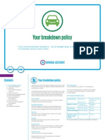 Breakdown Policy