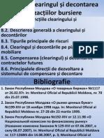 Slaide - Tema 8. Clearingul Și Decontarea Tranzacțiilor Bursiere