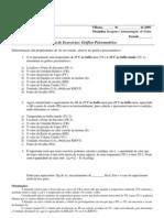 Lista de Exer Grafico Psicrometrico