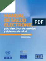 Manual de Salud Electronica Para Directivos de Servicios y Sistemas de Salud