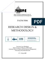 Research Design, Methodology