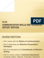 Communication SkilTechnical Report Writing