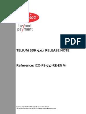 Release Note | Emv | Smart Card