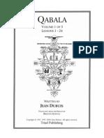 Jean Dubuis - Qabala Vol 1