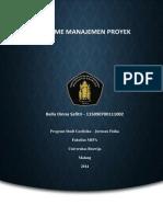 Resume Manajemen Proyek