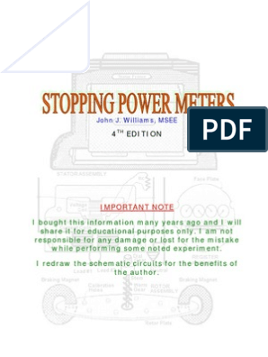 Stopping Power Meter | Inductor | Rectifier