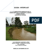 Estudio Hidrologico Quebrada La Moscav4