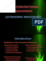Ultrasonic Machining