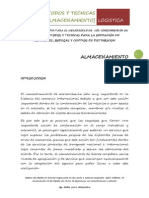 Metodos y Tecnicas Para La Operación en Almacenes, Bodegas y Centros de Distribucion