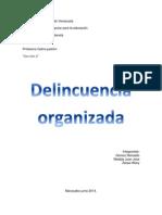 PENAL Delincuencia Organizada