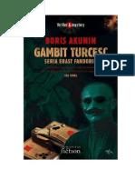 Akunin Boris Gambit Turcesc