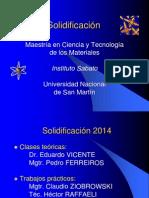 Solidificación 2014