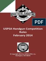 Feb 2014 USPSA Handgun Rules