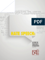 Pakistan Hate Speech Report 2014 by  Bytes For All
