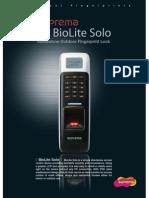 BioLiteSolo Brochure