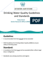 -Water Quality Standards