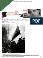 La Segunda República_ de La Fiesta Popular Al Golpe de Estado _ Julián Casanova