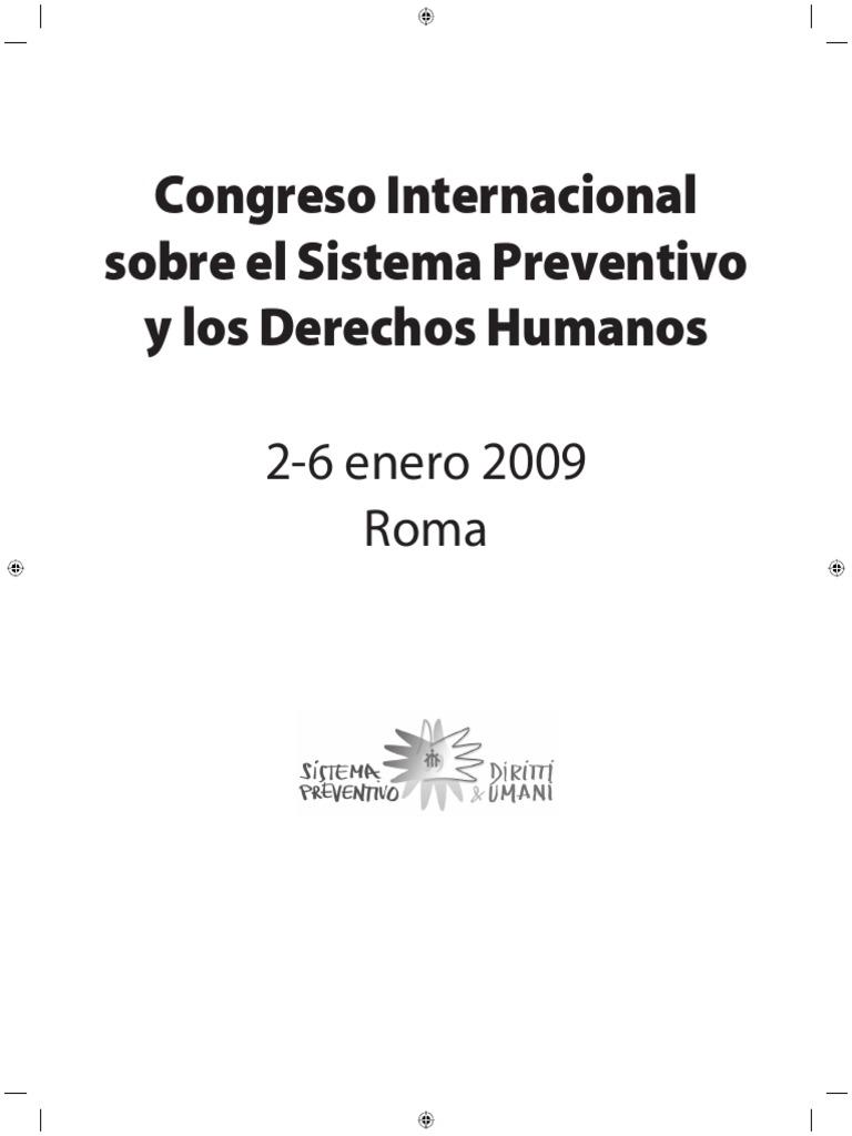 Actas Del Congreso Internacional Sistema Preventivo