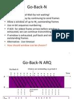 Gp-Back-N ARQ Protocol