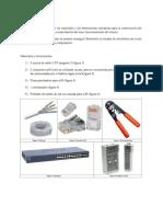 Manufactura de un cable de red directo y su utilización para conectar PC´s