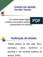 Psicologia Da Saúde - José a. Carvalho Teixeira