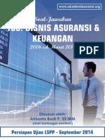 Buku Kumpulan Soal Jawab LSPP AAMAI 103 - Bisnis Asuransi Dan Keuangan - September 2014