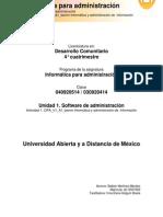 X Actividad 1 Informática y Administración de Información