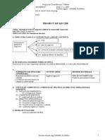 Proiect Lectieplanul de Negociere