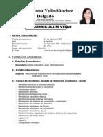 Cv- Sanchez Delgado Diana