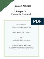 3ro grado - Bloque 4 - Educación Artística.doc