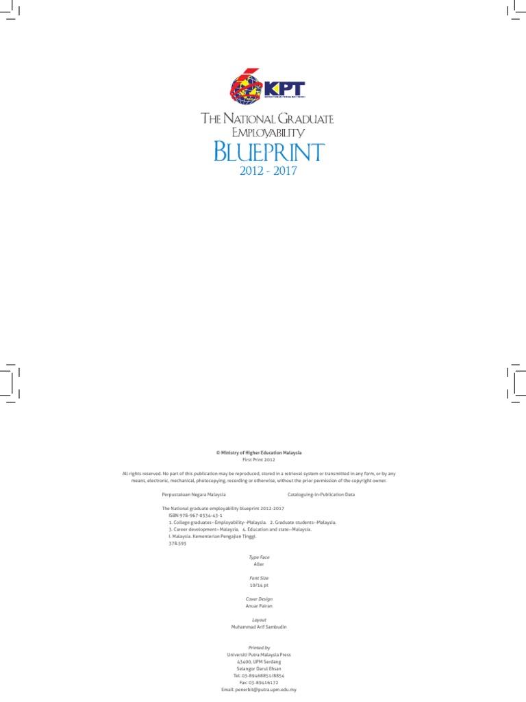 National graduate employability blueprint 2012 2017 employment national graduate employability blueprint 2012 2017 employment higher education malvernweather Images