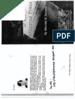 The Quiet Revolt of the Philippine Press - Marcelo B. Soriano_1981