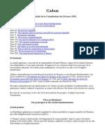 #Gabon :La Constitution de La République Gabonaise de 1991