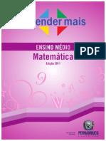 Livro Aprender Mais Matematica Ens Medio