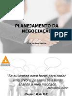 Técnicas de Negociação - Planejamento Da Negociação - 30 04 2014
