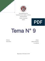 Trabajo Tema 9 SAIA D Criminología - Idalmis Colmenarez