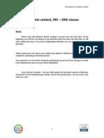 2013 Subiecte Internationala Calc 9-10