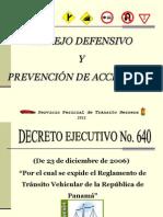 Charla Prevencion de Accidentes de Tránsito_2012(Actualizada)