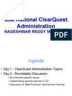 IBM Rational ClearQuest Administration