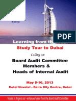 IIA Kenya BAC & CAE Workshop, Dubai